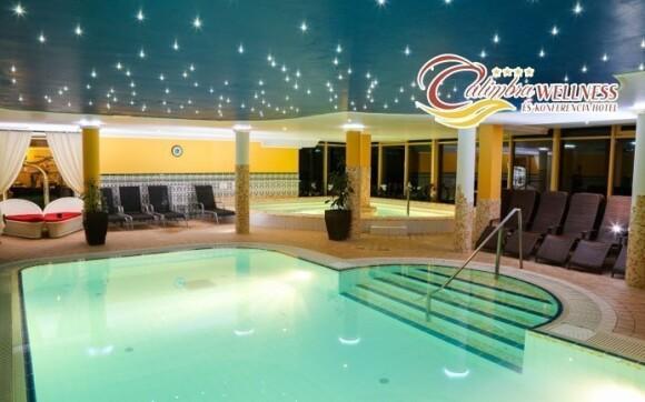 Užijte si koupání v tomto nádherném bazénu