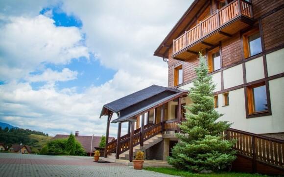 Hotel Euforia najdete v krásné přírodě Vysokých Tater