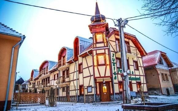 Penzion Jurika najdete ve vesničce Bobrovec