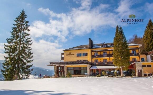 Alpenhof Hotel *** leží v senzační oblasti pro zimní radovánky