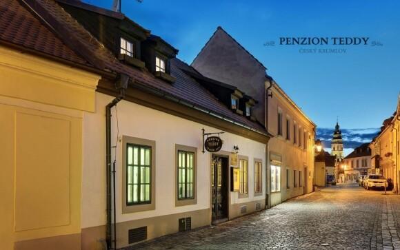 Penzion stojí v centru města