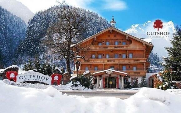 Luxusní hotel Gutshof Zillertal ****