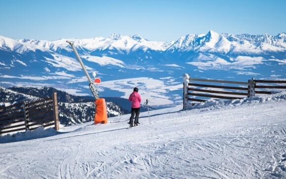 Užijte si lyžování v Nízkých Tatrách