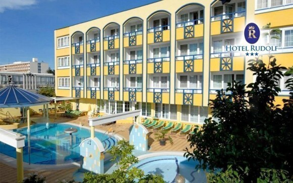 Zažijte skvělou dovolenou v lázeňském městě v hotelu Rudolf ***