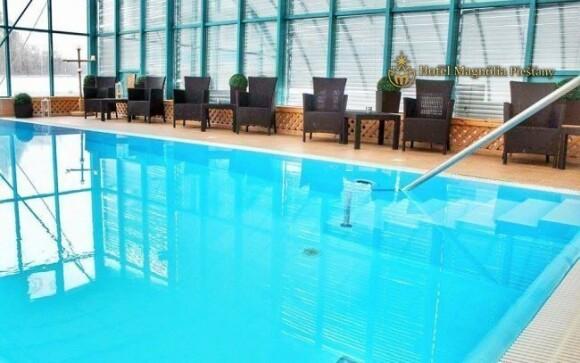 Hosté si mohou vychutnat neomezený vstup do bazénu