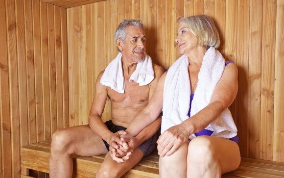 V hoteli môžete relaxovať aj v saune