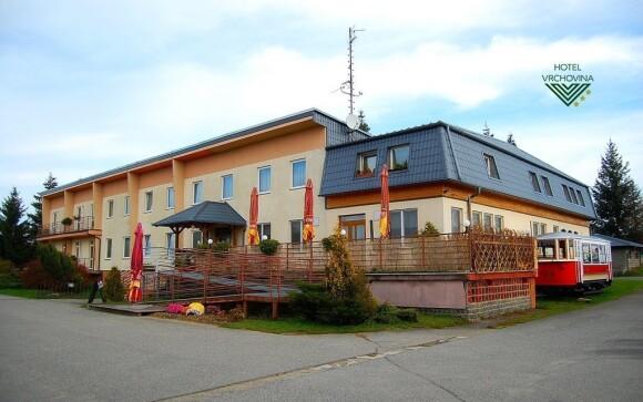Hotel Vrchovina se nachází v perfektní lokalitě