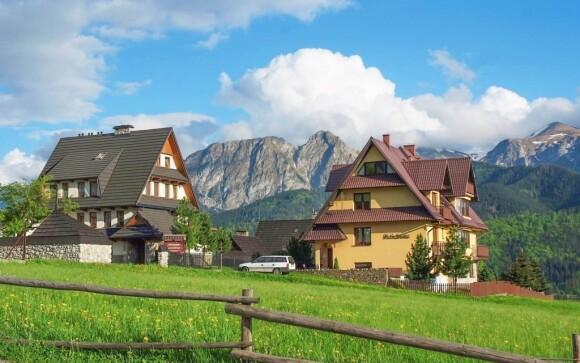 Užijte si krásy malebné krajiny, která obklopuje Kompleks