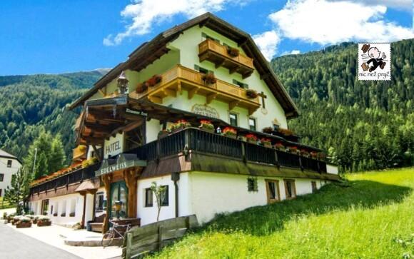 Letní Alpy v hotelu Edelweis