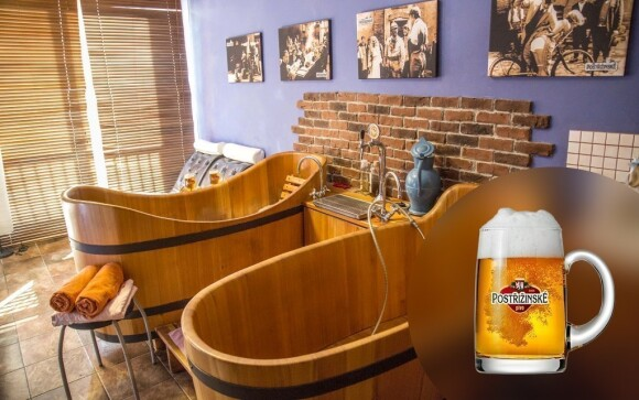 Dopřejte si pivní lázeň ve stylu Postřižin