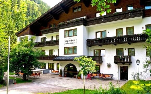 Hotel Evianquelle najdete ve Vysokých Taurách