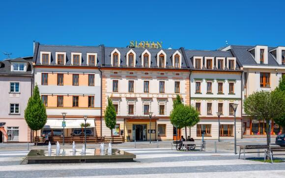 Hotel Slovan ****, ocenený hotel v Jeseníku