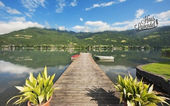 Hotel Haus Lavendel se nachází kousek od jezera Ossiacher