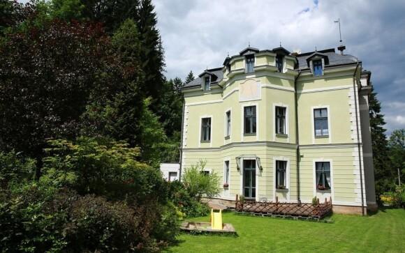 Prvorepubliková vila vám poskytne milé dovolenkové útočiště