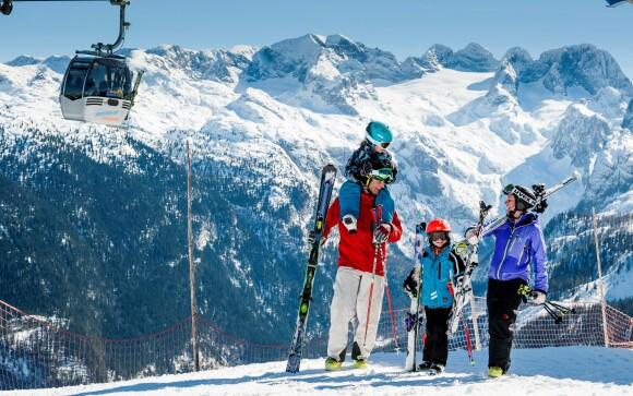 Rakouské Alpy jsou parádní lokalitou na lyžování