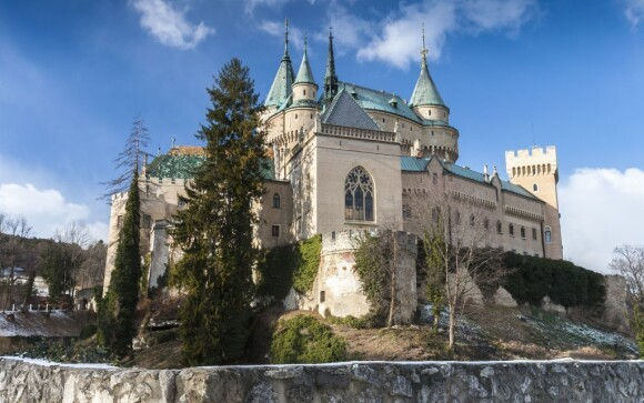Navštívit můžete třeba Bojnický zámek