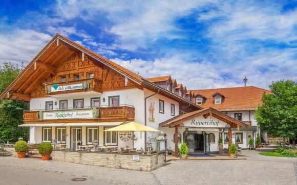 Hotel dýchá pravou bavorskou atmosférou