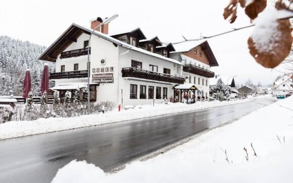 Hotel Lesní dům stojí u Bavorského lesa