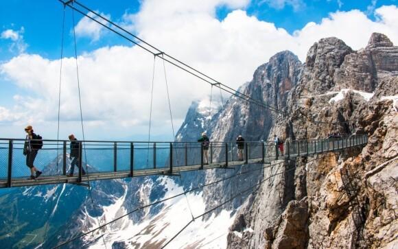 Čeká vás pobyt u ledovce Dachstein