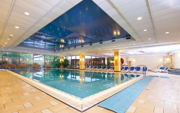 Tento bazén můžete během pobytu využívat neomezeně