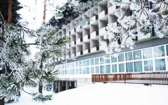 Hotel je obklopen přírodou