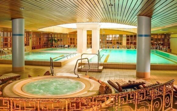 Do wellness s termálními bazény máte vstup zdarma