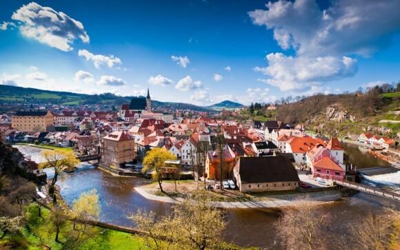 Český Krumlov (UNESCO) je perlou južných Čiech