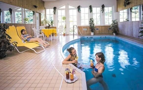 Užite si odpočinok v bazéne
