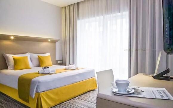 Stylové pokoje mají minimalistický design...