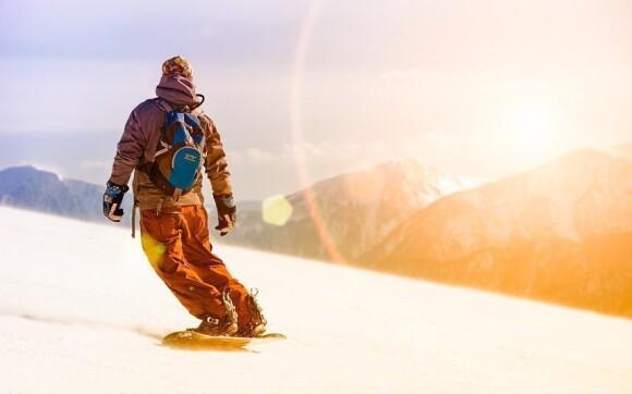 Nejbližší ski areál je jen 300 m od hotelu