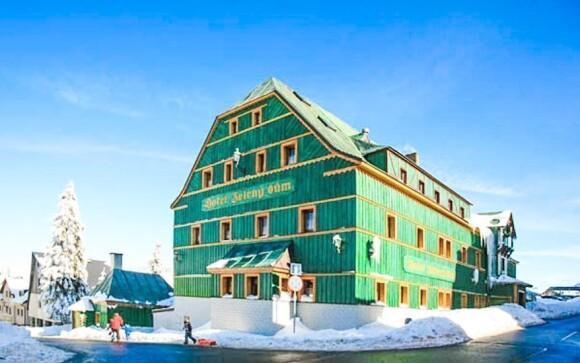 Hotel leží v nejvýše položeném horském městečku
