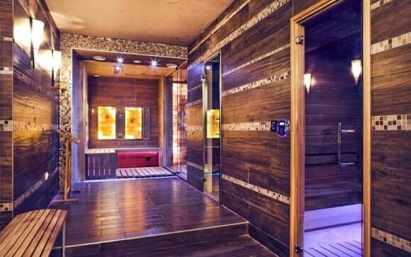 V hotelovém wellness najdete i himálajskou solnou kabinu