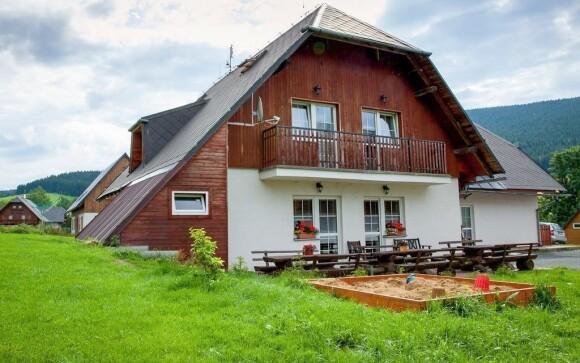 Penzion Geppert nabízí ubytování uprostřed přírody