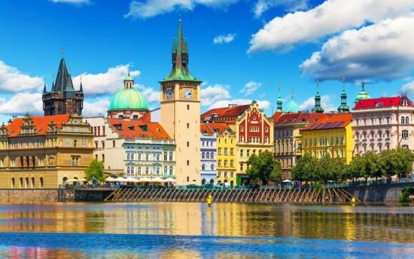 Do centra Prahy se dostanete snadno metrem nebo tramvají