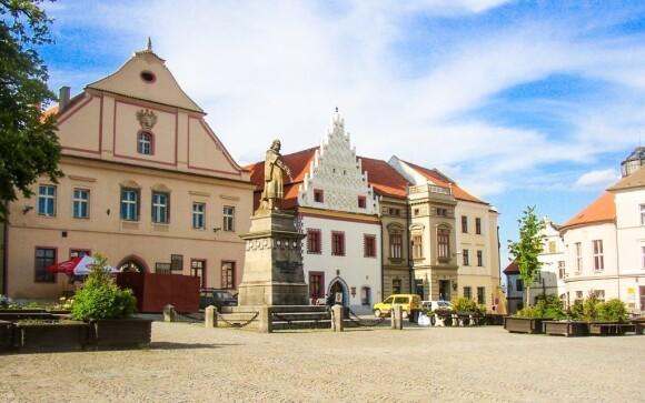 Ubytujte se v historickém centru města Tábor