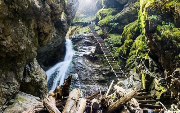 Slovenský ráj je krásný v jakémkoli ročním období