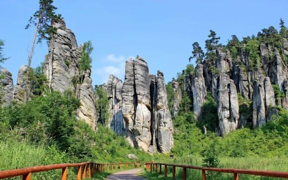 Projděte si turistické trasy v Adršpašsko-teplických skalách