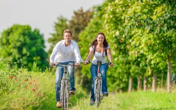 Po okolí se můžete projet na kole