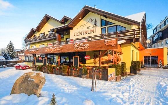 Hotel Centrum Harrachov *** se nachází v krásné přírodě