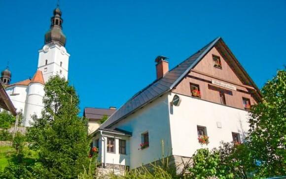 Penzion Vlaďka nabízí ubytování v obci Branná