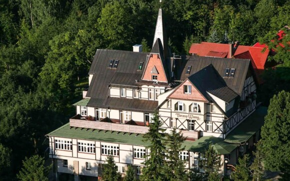 Hotel Tarasy Wang ***, Karpacz, Krkonoše, Poľsko