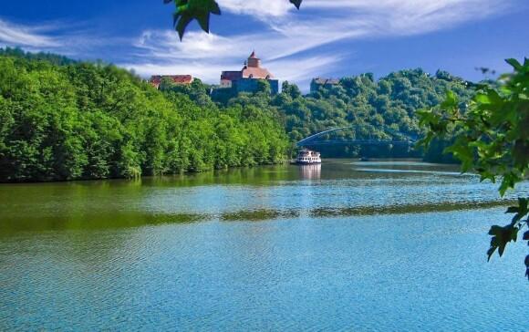 Romantické prostředí u Brněnské přehrady