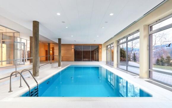 V cene máte vstup do wellness s bazénom