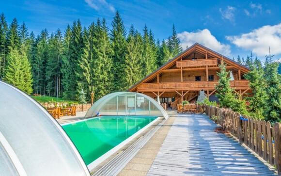 Užijte si pobyt v Beskydech s wellness s venkovním bazénem