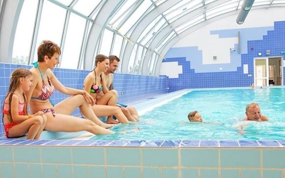 V Aquapalace najdete spoustu bazénů