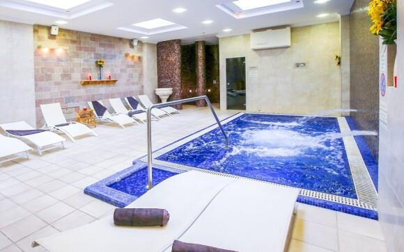 Vířivý bazén je ideální k relaxaci