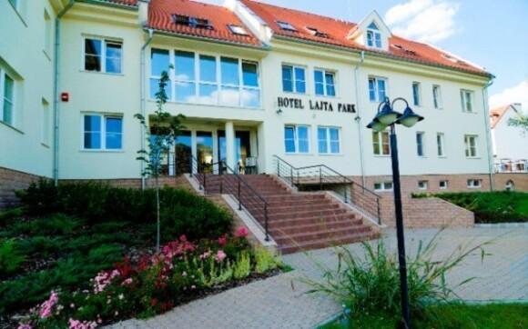 Hotel Lajta leží v klidné části města