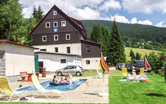 V lete si užijete aj vonkajší bazén