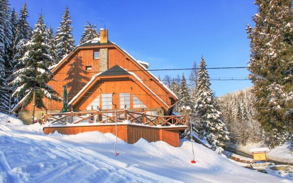 Horský hotel Vidly **** poskytuje zázemie v srdci Jeseníkov