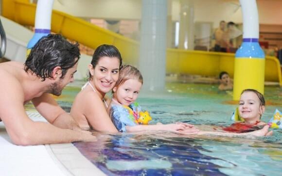 Vydajte sa s rodinou do maďarských Kúpeľov Sárvár